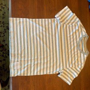 Calvin Klein Striped T-Shirt Men's XS
